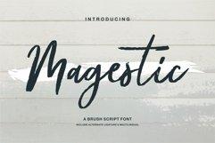 Magestic - A Brush Script Font Product Image 1