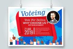 4 Horizontal Election Voting Flyers Bundle Product Image 5