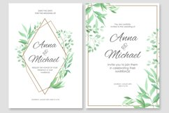 Wedding invitations vector set #2 Product Image 3