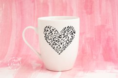Heart With Leopard Texture Product Image 4