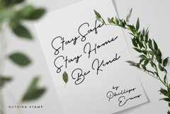 Outdoors Signature Typeface Product Image 3