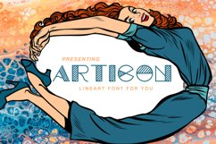 Articon - A Cute Lining Font Product Image 1