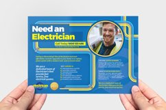 Electrician Flyer Template Product Image 3