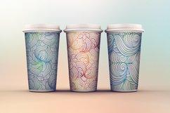 Vibrant waves seamless patterns set Product Image 2