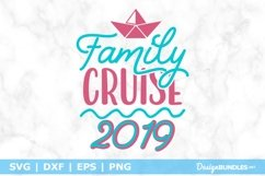 Family Cruise 2019 SVG File Product Image 1