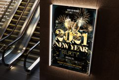 New Year Party Flyer Product Image 4
