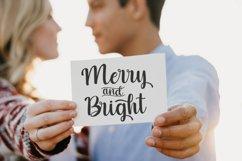 Christmas and Santona | A Beautiful Chirstmas Script Font Product Image 2