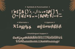 Hadeya - Modern Script Typeface Product Image 6
