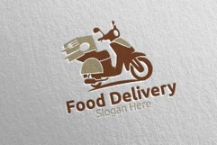 Scooter Fast Food Delivery Logo 7 Product Image 4