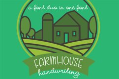 PN Farmhouse Handwriting Product Image 1