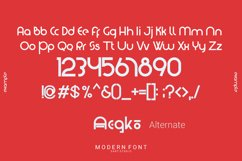 Washington - Modern Display Font Product Image 2
