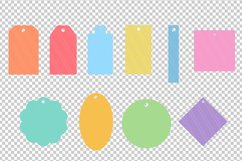 Gift Name Price tags SVG / DXF cutting files Product Image 2