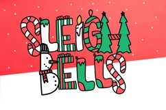 Sleigh Bells - A Christmas Font Product Image 1