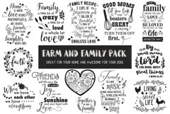 Farm and Family Cut Files Pack - Limited PROMO! Product Image 1