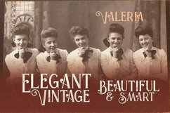 Valeria - Display Font Product Image 4