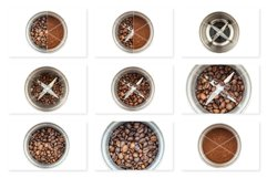 Steel Coffee Grinder Isolated Photo Product Image 2