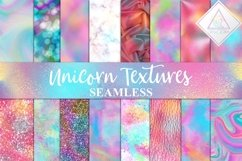 Seamless Unicorn Textures Digital Paper Product Image 1