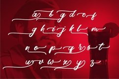 Web Font Red Rum Product Image 3