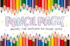 Pencil Pack PS Brushes Product Image 1