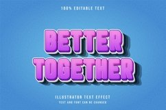 Better together - Text Effect Product Image 1