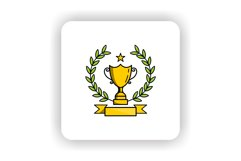 Trophy Award Logo Template Product Image 2