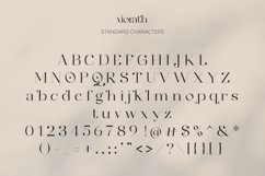 Viorath Moern Serif Font Product Image 3