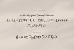 Mariposa Script Calligraphy Product Image 4