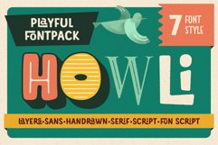 Howli Font Pack Product Image 1