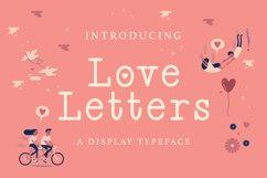 Web Font Love Letters Product Image 1