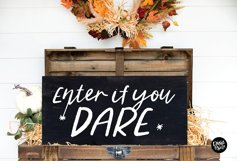 WITCHY a Distressed Halloween Script Product Image 3