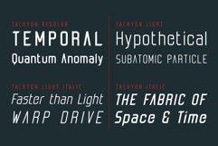 Tachyon Font - Condensed Sans Serif Product Image 2