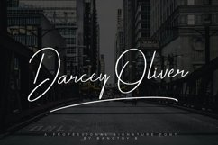 Darcey Oliver Signature Font Product Image 1