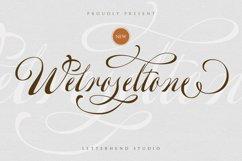 Welroseltone - Unique Script Font Product Image 1