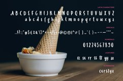 Ice-cream & Berries Font Product Image 2