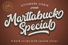 Marttabuck Script Product Image 1