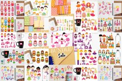 Just For Girls Clip Art Illustrations Huge Bundle Product Image 2