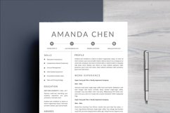 Clean Professional Resume Template Word Product Image 3