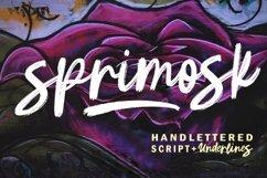 Sprimosk Font Product Image 1