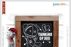 Thinking of You SVG Cut File Product Image 3