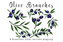 Olive branches set Product Image 4