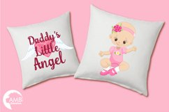 Daddy's little princess clipart, graphics, illustrations AMB-1293 Product Image 5