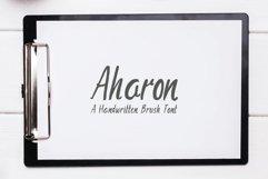 Aharon Handwritten Brush Font Product Image 1