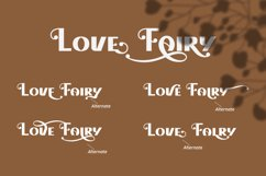 Love Fairy - Modern Display Font Product Image 2