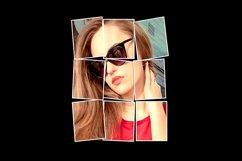 Vertical Panels Portrait Photoshop Action Product Image 2