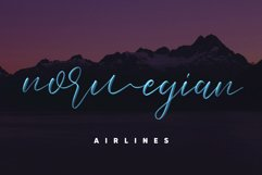 Love Brush SVG Font - Free Sans Product Image 4