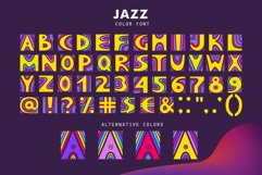 JAZZ - SVG Color Font Product Image 3