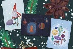 Christmas set. Hand drawn. Product Image 6