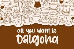 Dalgona - Quirky Font Product Image 4