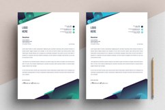 Modern Letterhead Pad Template With Word Apple Pages Format Product Image 3