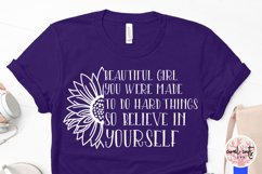 Beautiful girl you were - Women Empowerment EPS SVG DXF PNG Product Image 4